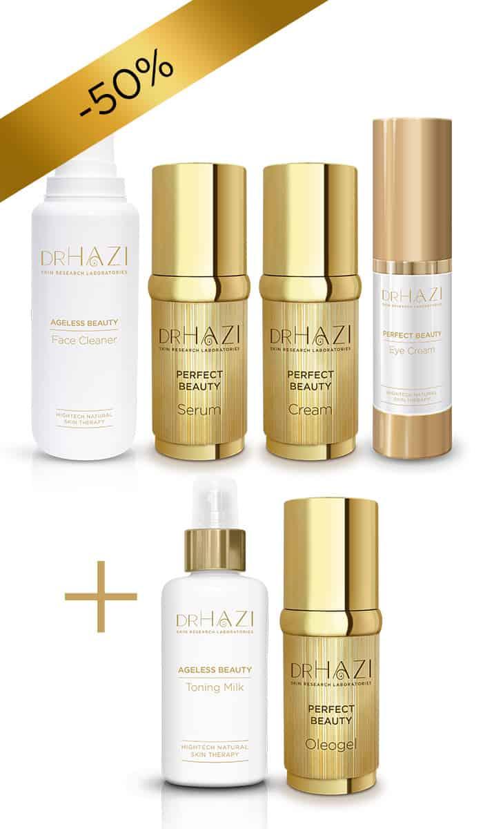 BLACK FRIDAY ajándék DRHAZI-tól BLACK FRIDAY Perfect Beauty kezelési sor 4+2 ajándék -50%